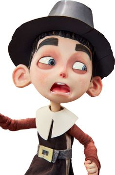 Animation Art:Puppet, ParaNorman Pilgrim Normal Original Animation Puppet (LAIKA,2012)....