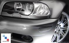 E46 Pre-facelift And M3 Front Reflectors Shown Installed. -  - Painted Reflectors  - Photo #15