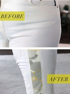 Don't get rid of your favorite pants, just because they are too small. Make them more comfortable by letting out the side seams or add fun side gussets. Diy Wall Decor, Home Decor Wall Art, Diy Bedroom Decor, Design Bedroom, Wall Shelves Design, Diy Wall Shelves, Diy Crafts Videos, Home Crafts, How To Store Shoes
