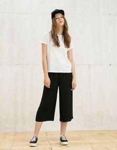 Trousers - SALE - WOMAN - Bershka Israel