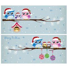 Alexander Taron Korsch Owls Advent Calendar