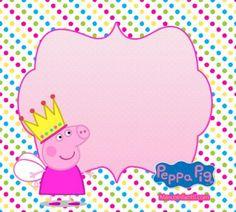 Etiquetas peppa cerdita - peppa pig stickers para descargar gratis - marcos peppa pig - fondos de peppa cerdita Invitacion Peppa Pig, Cumple Peppa Pig, Peppa Pig Y George, George Pig, Peppa Pig Gratis, Peppa Pig Imagenes, Pig Birthday, Birthday Ideas, Miffy