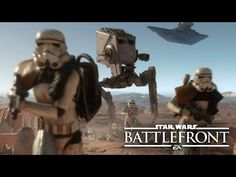 "Star Wars Battlefront: Co-Op Missions Gameplay Reveal | E3 2015 ""Survival Mode"" on Tatooine - YouTube"