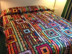 Quilting Quietly: My Second Africa Quilt