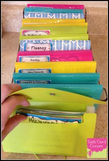 Task Card Corner: Task Card Storage & Organization!  How cool is this???