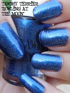 """@Tawdry Terrier """"Howling at the Moon"""" in the shade. Howling at the Moon is from the Autumn in the Barkshires collection and will be available September 1 at http://www.etsy.com/shop/TawdryTerrier. #nailpolish #indienailpolish"""