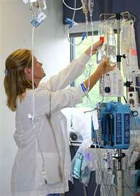 ICU. This is how we roll. Need a vent, swan ganz monitor, CRRT machine, Bair hugger & my favorite THE LEVEL ONE RAPID INFUSER