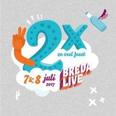 Twee dagen feest! Benieuwd wat er op vrijdag 7 en zaterdag 8 juli gaat gebeuren? Check gauw bredalive.nl