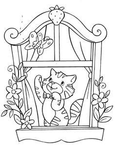elsa coloring pages - Free Large Images Elsa Coloring Pages, Coloring Sheets For Kids, Cat Coloring Page, Coloring Pages To Print, Free Coloring, Coloring Books, Strawberry Shortcake Coloring Pages, Cat Quilt, Printable Coloring