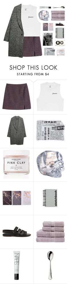 """""""i mean something to you"""" by darkdiamonds-1 ❤ liked on Polyvore featuring Carven, Billabong, Violeta by Mango, Fornasetti, Herbivore, CASSETTE, Kosta Boda, Paperchase, megumi ochi and Christy"""