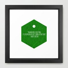 Imagination Is Everything Framed Art Print by Growing Ideas - $31.00