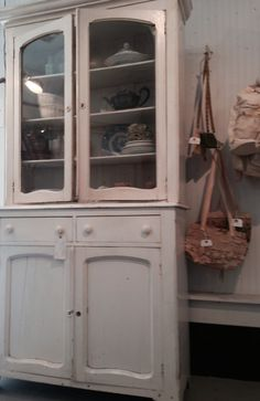 Another early cupboard at City Farmhouse, Franklin, TN