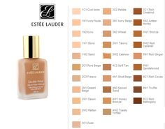 Beauty Chronicles: ESTEE LAUDER Double Wear Foundation Review and swatches