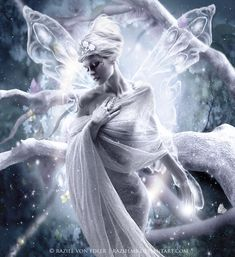 Winter Fairy ~ Daily Inspiration by RazielMB on deviantART