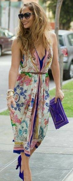 Jennifer Lopez, Street Style, Street Chic, Summer Outfits, Cute Outfits, Summer Dresses, Look Fashion, Womens Fashion, Fashion Trends