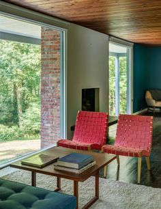 DeSilver House - John Black Lee - New Canaan - bedroom
