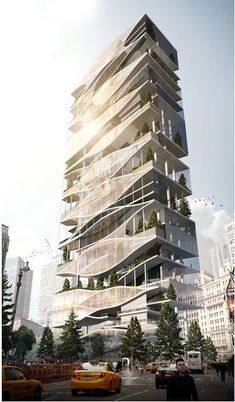 Image 21 of 21 from gallery of eVolo& 20 Most Innovative Skyscrapers. The Oculus: Regenerating Life Through a Vertical Topology / Rodrigo Carmona. Image Courtesy of eVolo Hotel Design Architecture, Cultural Architecture, Green Architecture, Concept Architecture, Futuristic Architecture, Design Hotel, Sustainable Architecture, Residential Architecture, Amazing Architecture