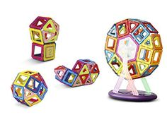 Keten Magnetic Building Blocks Set-Upgraded Magnetic Construction Stacking Toys for Children over Three Years Old [52pcs] * Be sure to check out this awesome product.