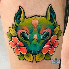 Skull Tattoos, Bats, Animals, Animales, Animaux, Animal, Animais, Sugar Skull Tattoos