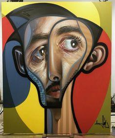 L'artiste espagnol Miguel Ángel Belinchón Bujes, alias Belin, est connu dans le monde du graffiti pour ses peintures photo-réalistes. C'est après un récent