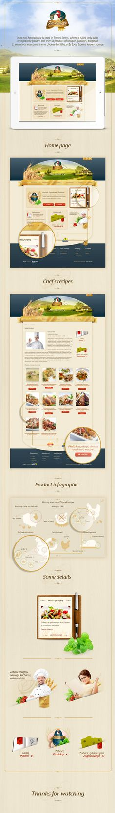 Zagrodowy.pl / Hello! Studio / #food #green #gold