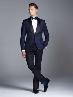Gieves & Hawkes FW2013 ready-to-wear. Midnight Blue