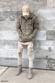 Hooded Zip-Front Anorak