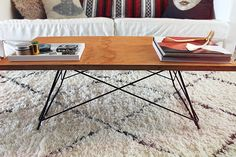 coffee table diy - almost makes perfect