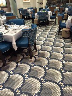 Keystone hexagon tiles