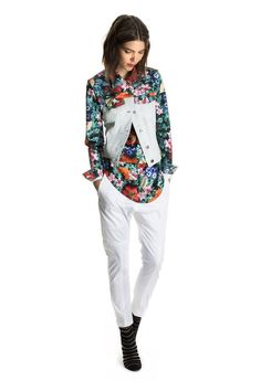 Daniel Vosovic Spring 2014 Ready-to-Wear Collection Slideshow on Style.com Love it when a designer gets florals right :)