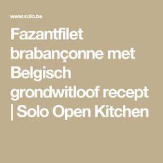 Fazantfilet brabançonne met Belgisch grondwitloof recept   Solo Open Kitchen