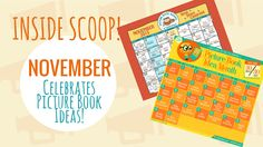 November celebrates Picture Book Ideas! This year KidLiT TV is participating in two major celebrations! PiBoIdMo and Picture Book Month! Be on the look out!
