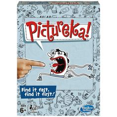 Hasbro Pictureka Board Game - Buy this now at a knockdown price.  http://tidd.ly/e5679b0a