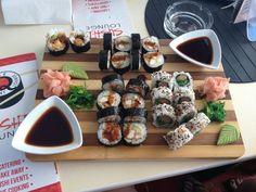 sushi, healty, vegetable, vegan, foodporn, food, salmon, tuna, cute, tumblr