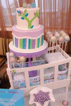 Cute baby shower theme!