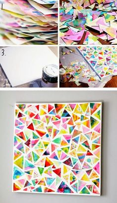 Arte diy for kids, crafts for kids, arts and crafts, art and craft Kids Crafts, Arts And Crafts, Craft Kids, Crafts For 3 Year Olds, Family Crafts, Arte Elemental, Art Diy, Diy Wall Art, Business For Kids