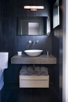1000 images about downstairs dark blue bathroom on