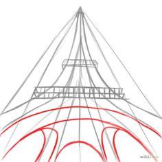 den eiffelturm zeichnen reihe zeichnen und paris zeichnung. Black Bedroom Furniture Sets. Home Design Ideas