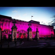 Pink Buckingham Palace #pinklondon