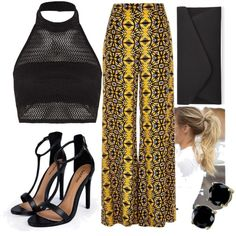 Wide Eyes by mattress on Polyvore featuring polyvore, fashion, style, Boohoo, River Island, Accessorize and B. Brilliant