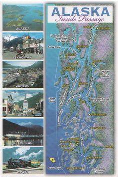 NCL Inside Passage Cruises. ....destinations...