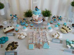 Sweet table Battesimo per il piccolo Elia #fattoamano #dolci #pdz #fattodame