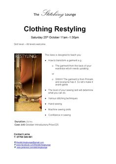 Clothing Restyling class
