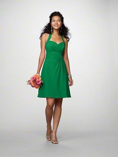 Bridesmaids' dresses-I love this style.