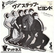 Madness - One Step Beyond, japanese single cover.