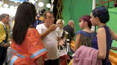 Behind The Scenes of the royal cotillion Descendants Wicked World, Disney Channel Descendants, Descendants Cast, Zachary Gibson, Dianne Doan, Kenny Ortega, China Anne Mcclain, A Girl Like Me, Flynn Rider