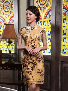 Vintage style chinese dress for women
