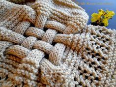 Pink Rose Crochet: Cachecol Bege Trançado em Tricô Knitted Headband, Crochet, Flora, Fashion, Knit Headband, Long Scarf, Beige, Knitting And Crocheting, Scarves