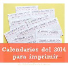 calendarios del para imprimir imprimir imprimible calendario