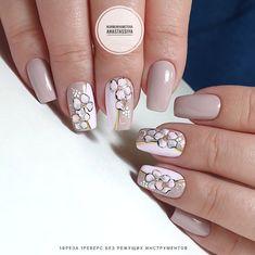 Маникюр | Дизайн ногтей Pastel Nails, Pink Nails, Nail Manicure, Nail Polish, Gel Acrylic Nails, Accent Nails, Beautiful Nail Art, Simple Nails, Nail Inspo